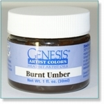 410101 - Paint :  Genesis Burnt Umber