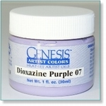 410110 - Paint :  Genesis Dioxazine Purple 07