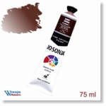 8123 - Paint :  Jo Sonja Burnt Sienna 75 ml