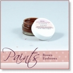 8041 - Paint :  AR Petite Premixed Brown Eyebrow Paint