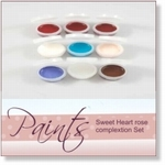 415909 - Paint : AR Sweet Heart Rose Paint set