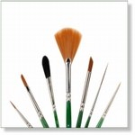 7914 - Paint Supplies : AW  Advance Paint Brush set