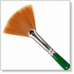 7917 - Paint Supplies : AW  Fan Brush no. 6