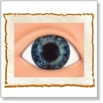 7509 - Eyes :  HQ acryl ogen Dark Blue