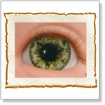 7503 - Eyes :  HQ acryl ogen Ocean Green