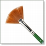 7916 - Paint Supplies : AW  Fan Brush no. 4