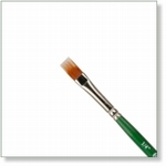 7933 - Paint Supplies : AW Color Comb Brush 1/4