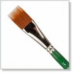 7935 - Paint Supplies : AW Color Comb Brush 3/4