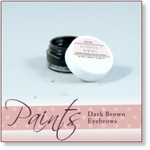 8043 - Paint :  AR Petite Premixed Dark Brown Eyebrow