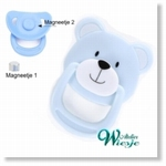 792026 - Accessories : Reborn Pacifier Blue - Bear - Not available