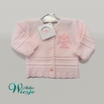800114 - Clothing : Knitted baby cardigan - Little Princess - UITVERKOCHT