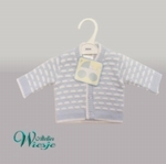 800118 - Clothing : Knitted cardigan - Brick knit