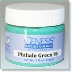 410119 - Paint :  Genesis Phthalo Green 06