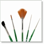 7914 - Paint Supplies : AW Basis penselen set